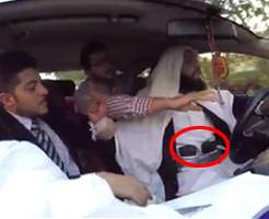 【ドッキリ】タクシー運転手「これからテロするんやで。自爆ベルトチラミセー」乗ってる人の反応をご覧くださいw