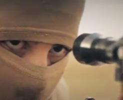 【イスラム国】ISIS兵士のスナイパー、映像編集でFPSみたいなクオリティになっとる