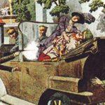 第一次世界大戦はこの後すぐ、オーストリア=ハンガリー帝国の後継者暗殺写真