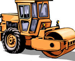 【グロ画像】道路舗装現場で遊んでる子供、ロードローラーに轢かれる…
