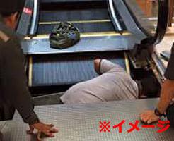 【閲覧注意】何気なく乗ったエスカレーターに食い殺されかける怖い瞬間とその後