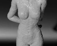 【閲覧注意】拘束した女性に蝋(ろう)ぶっかけて蝋人形にしてみた