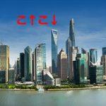 【衝撃】上海ワールド・フィナンシャル・センター(492m)の窓清掃、リフトが風に揺られてヤバい事になってる…