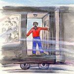 列車から飛び降りるぞ!素人が映画さながら走行中に飛び降りた結果、転げ落ちて死亡