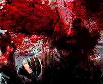 監視カメラに写った殺人の瞬間、頭を撃ち抜かれて血肉がカメラに向かって飛び散る…