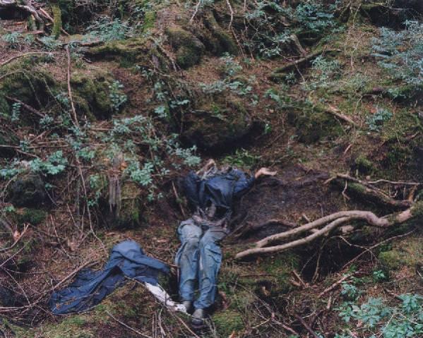 その6> 7.青木ヶ原樹海で自殺した人の遺体 <img src=