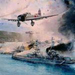 真珠湾攻撃で墜落した日本海軍パイロットの引き上げの様子がこれ