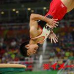 世界記録はオレのものだ!→ジャンプ着地失敗で首折る体操選手