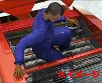 【グロ】機械に巻き込まれ肉片を撒き散らしグジャグジャになった死体の画像