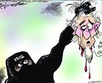 """【閲覧注意】""""arrrggghh!!"""" ISIS兵士が今まで散々してきた「生きたまま斬首」で処刑される"""