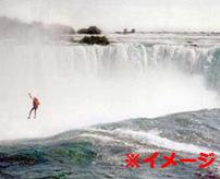 【衝撃】落ちたら最後!?落差60m近くあるナイアガラの滝に落ちて自殺する人を個人撮影!