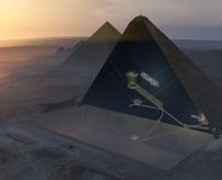 技術の進化!エジプトのピラミッド内を3Dスキャンで新しい空間発見!