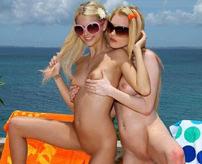 【ヌーディストビーチ】ムラムラが止まりません!浜辺に全裸でいる美女のセクシーショットが満載!
