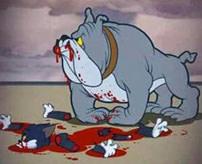 【閲覧注意】殺された男性、遺体を野良ワンちゃんが隠滅!上半身だけキレイに喰われる