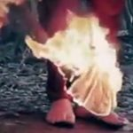 【イスラム国】鎖で縛った人間を火あぶりにして焼き殺す処刑