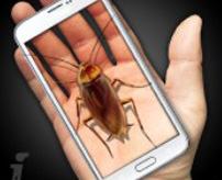 「ギャー!!!」ゴキブリを使った恐ろしいイタズラが出来るスマホアプリ
