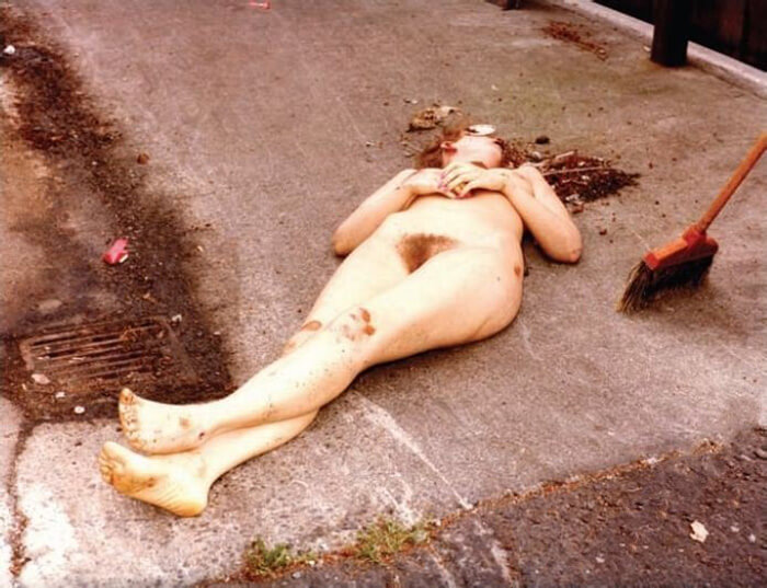 Life of debauchery naked