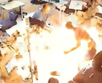 透析中の患者にガソリンをぶっかけ火を放ち3人が死亡