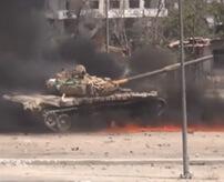 敵地のど真ん中で戦車がお釈迦…走って逃げる乗組員を無慈悲に狙撃
