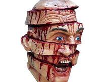 マチェットで顔をズタズタに縦割りにされて顔面崩壊しても生存している男性