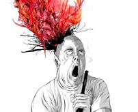骨と血肉で頭ががはじけ飛ぶ…ショットガンで自殺する瞬間