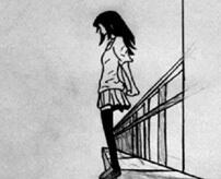 人生に疲れた女の子、自室のベランダから飛び降りて自殺…