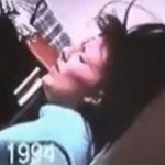 無抵抗の女性が殴り殺されていく殺人ビデオ。奇妙なBGMと咽び声ホラー…