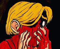 ドライバーで顔面を刺しまくってグサグサ…目もエグって殺害する恐怖の殺人ビデオ