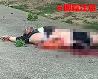 高層アパートの屋上から飛び降り自殺した男性…全身を強く打った衝撃で腹が破れて内臓が飛び散ってしまう…