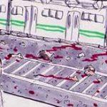 遮断機を無視して踏切を渡ろうとした男性、高速鉄道に轢かれて吹っ飛びながら粉々に…