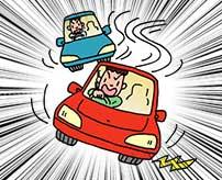 突如として高速道路でDQN同士がレース開始!→案の定こうなりました…