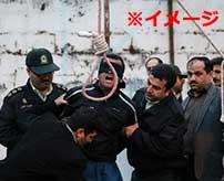 絞首刑に処された死刑囚の男、身体をビクンビクン痙攣させながら目を見開きながら死亡…