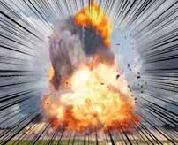 わずか十数秒で大惨事…リビングで突如起きた大爆発!