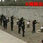6人の容疑者を同時射殺!公開された中国の集団処刑の衝撃映像…