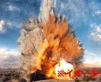 車に爆薬を積んで突っ込んできたISISの自爆テロ犯を吹っ飛ばす衝撃映像…