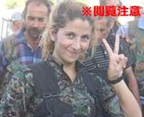 ISISに捕まってしまった女性兵士のその後が胸糞すぎる…