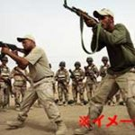 テロリストを数十秒でハチの巣にするイラクの兵士たち…