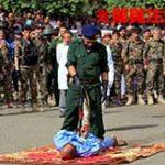 大勢の民衆の前で銃殺刑に処される公開処刑がコチラ…