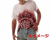 感染症を防ぐために飛び出た腸を火で炙るとんでもない荒療治がコチラ…