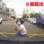 うつ病の少女が車に飛び込み自殺をした瞬間のドラレコ映像がコチラ…