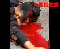 【閲覧注意】うつ伏せで倒れている男性、仰向きにすると顔面が破壊されていて…