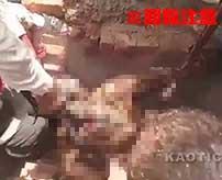 工業用のオーブンで生きたまま焼き殺されてしまった死体がヤバイ…
