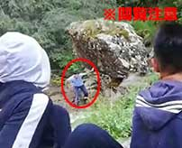 【ダーウィン賞】余計なことをしたせいで巨大な岩に潰されてしまう少年…